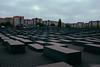 Berlin. Memorial to the murdered Jews.