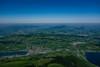 Mt Rigi. Switzerland.Looking to Germany.