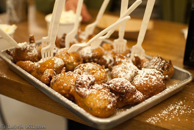 Chelsea Market Food Tour<br /> Deep Fried Oreos