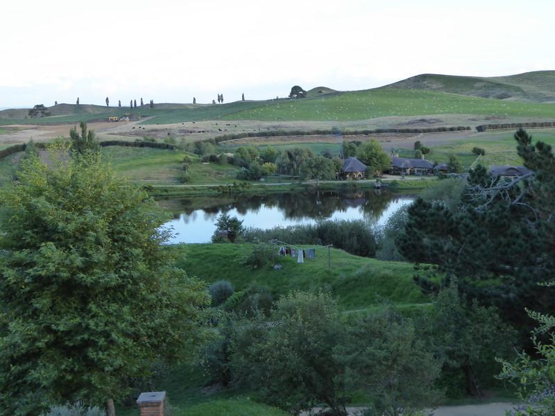 View of Green Dragon Inn, Hobbiton