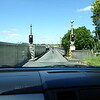 Waiting our turn to cross the Karapiro Dam