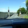 Waiting our turn to cross the Karapiro Dam