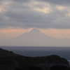 Mt Taranaki as seen from Mokau Motel