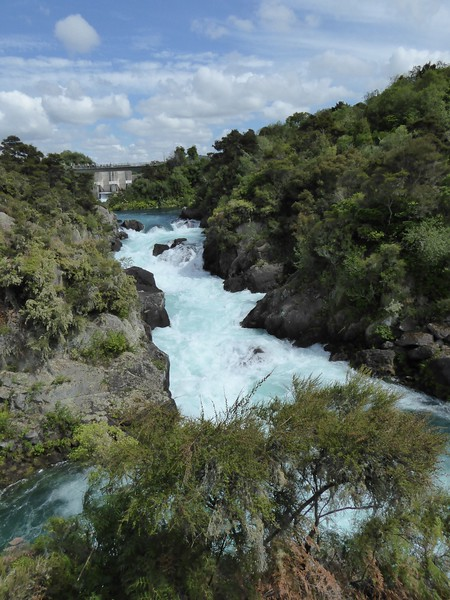 Aratiatia Dam at full flow