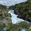 Aratiatia Dam at full flow