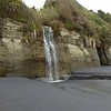 Waterfall at Awakino Heads