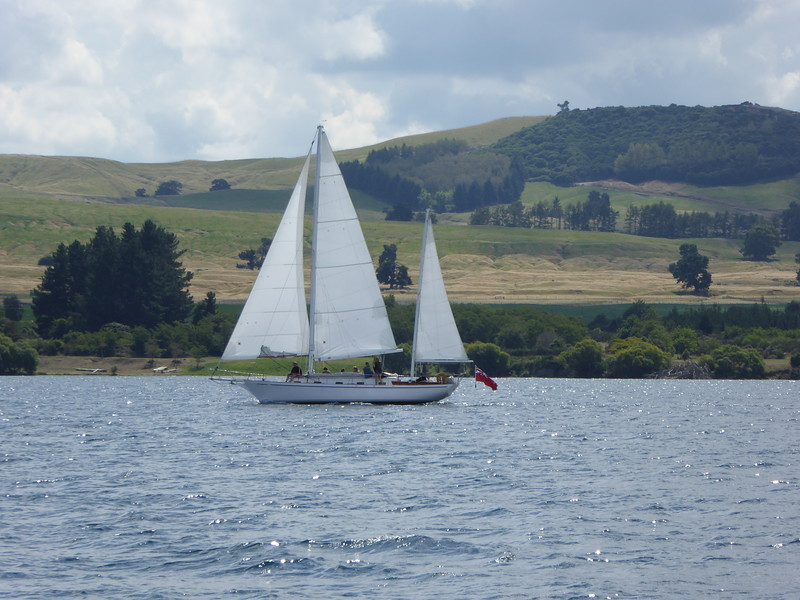 Sailing Lake Taupo