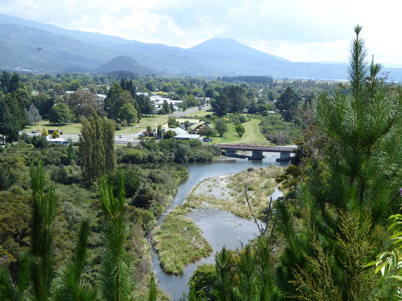 View from Turangi River Walk
