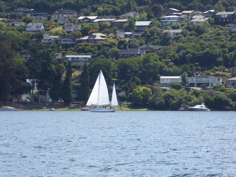 Lake Taupo waterfront