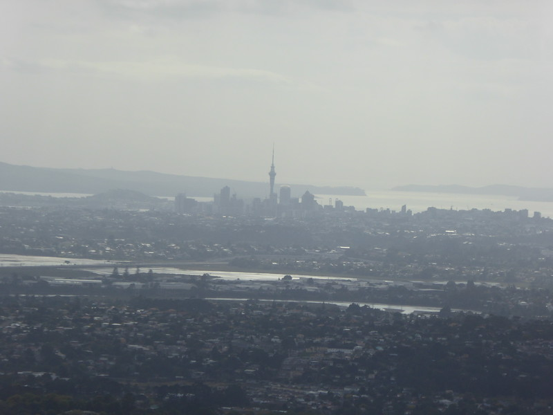 View of Auckland from Parkinson's Lookout
