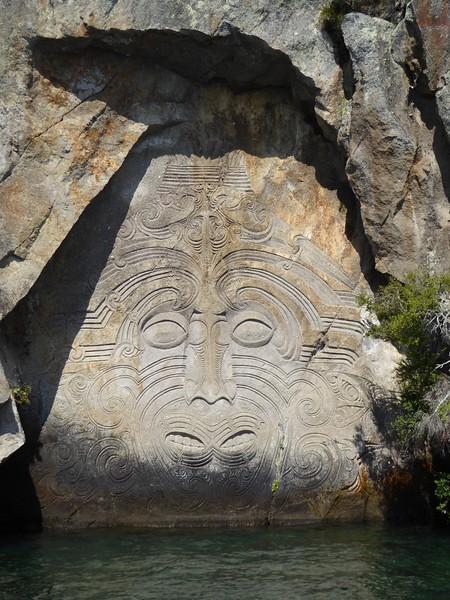 Maori Carvings, Lake Taupo