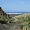 Track down to Karekare Beach