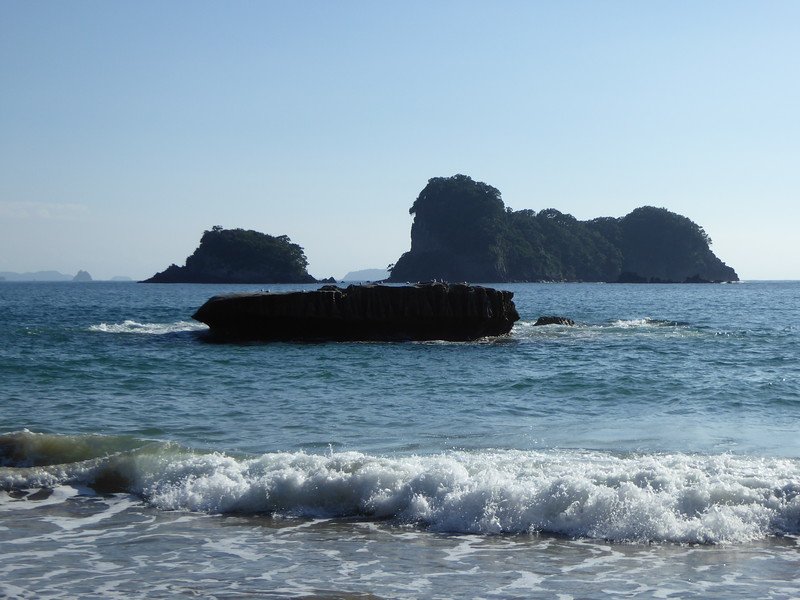 Ocean view at Cathedral Cove