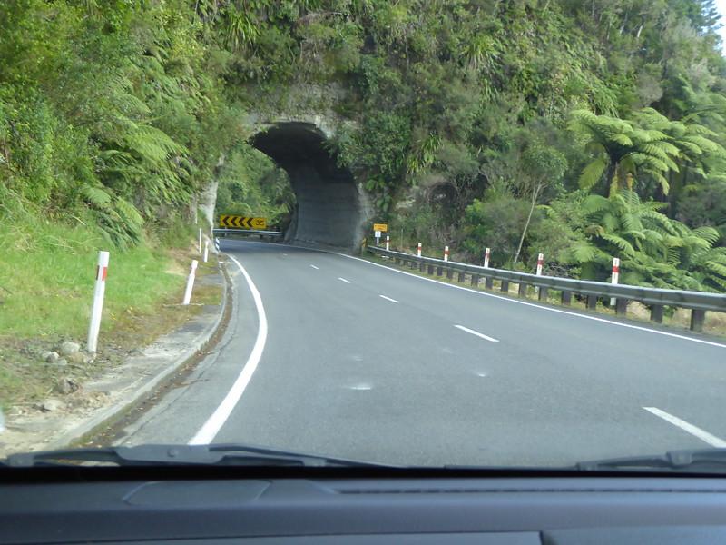 Mt Messenger Tunnel