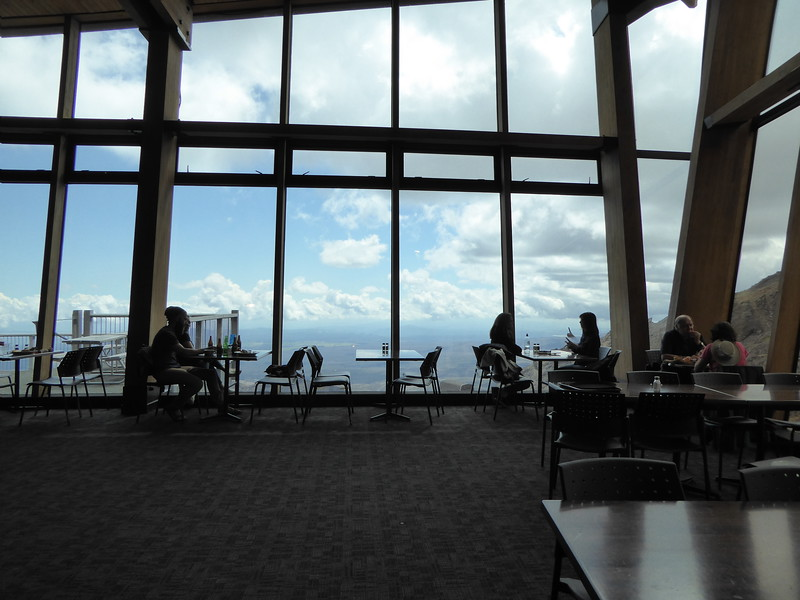 Inside Knoll Ridge Cafe