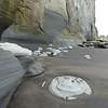 Weird rocks at Whitecliffs Walkway