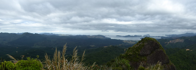 View from Castle Rock, looking toward Coromandel