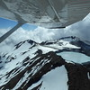View of Ruapehu from scenic Mountain Air flight