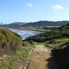 View of Murawai Beach
