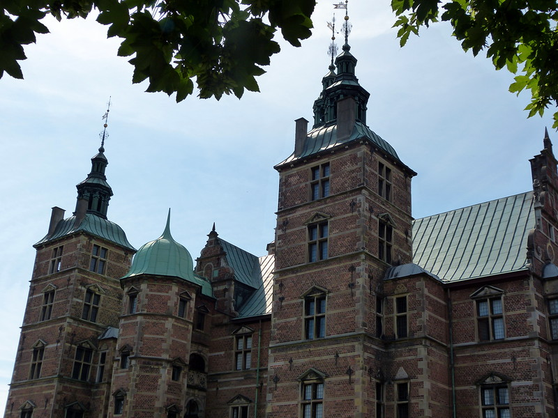 Exterior of Rosenborg Castle.