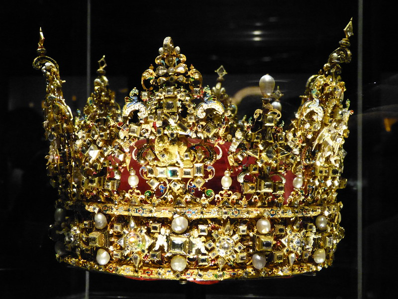 Crown Jewels - Rosenborg Castle.