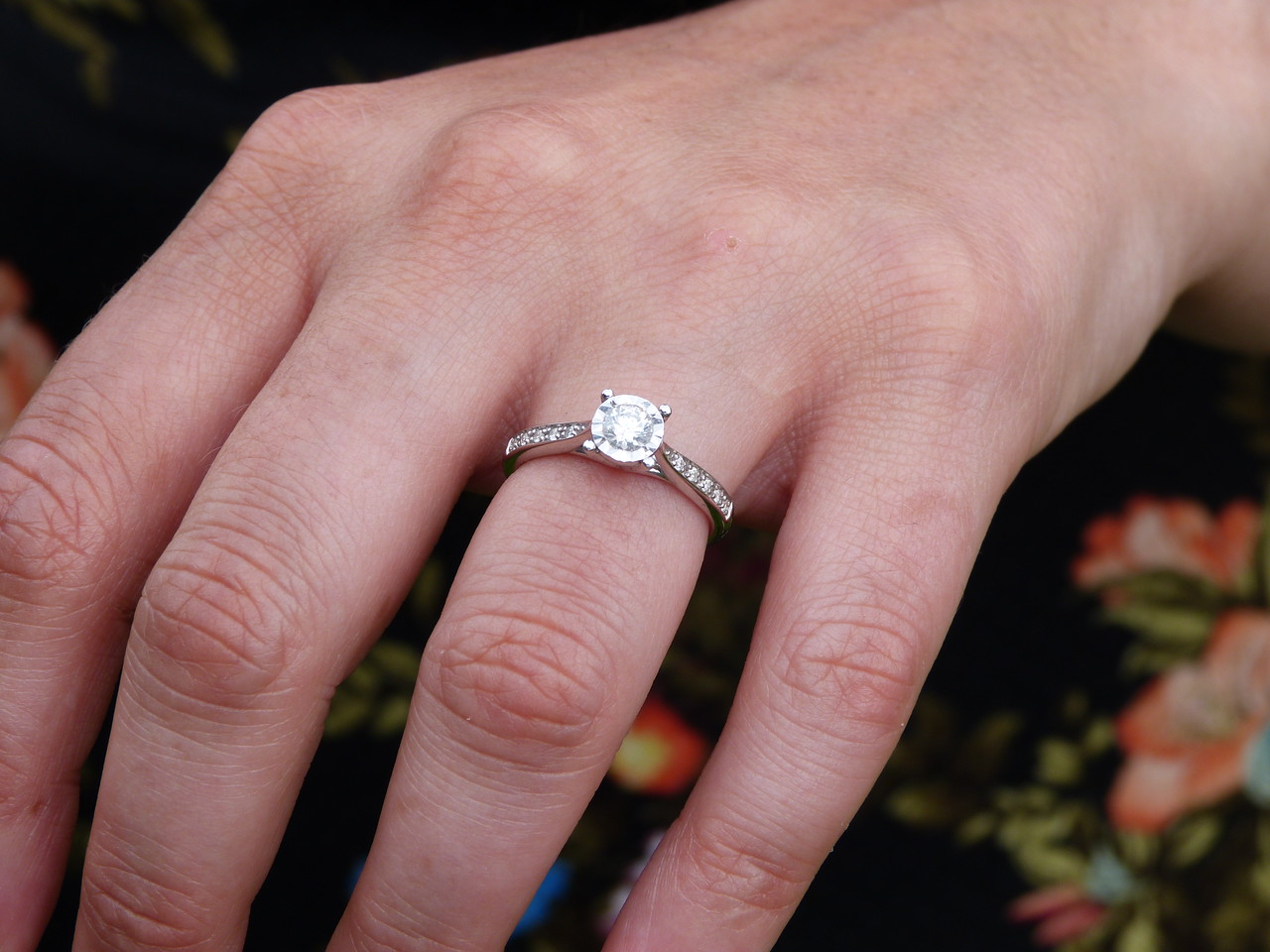 Victoria's engagement ring - beautiful!