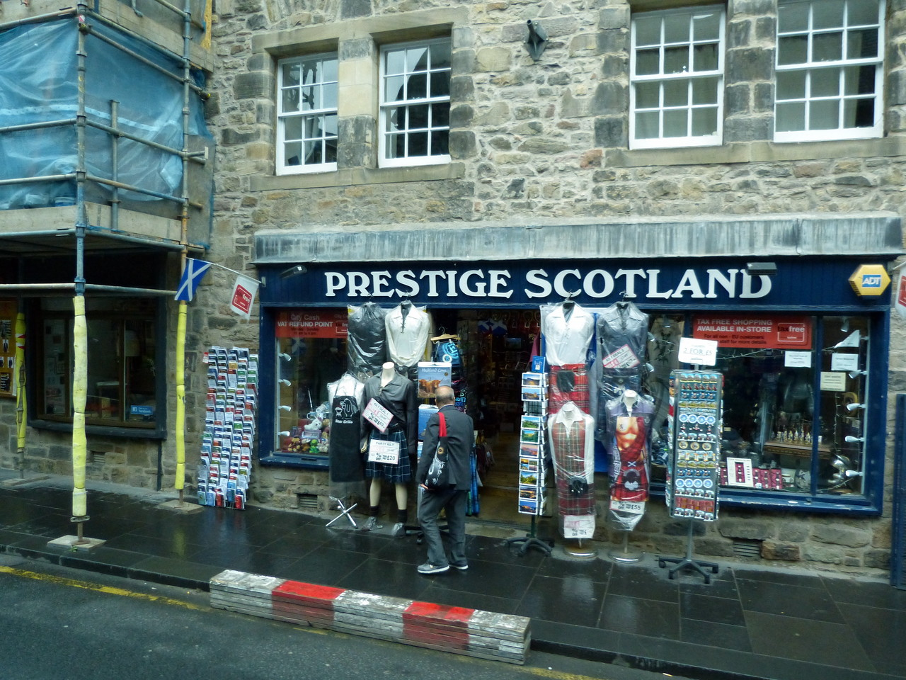 A section of the Royal Mile.
