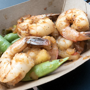 Australia: Grilled Sweet and Spicy Bush Berry Shrimp