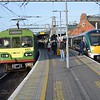 8101 arrives at Connolly, 0700 Greystones / Howth. 22011 on the right would depart at 0800 for Sligo. Mon 10.04.17