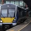 4013 arrives at Belfast Central. Fri 04.08.17