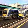 3009 at Coleraine, 1138 Londonderry / Great Victoria Street. Over the Christmas holidays, 3009 was attacked by vandals. Weds 27.12.17<br /> <br /> With thanks to 4SKRT