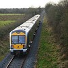 3015 at British Road between near Aldergrove Airport,  ''Antrim branch route learning special.'' Weds 25.01.17