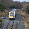 3015 passes Ballinderry,  ''Antrim branch route learning special.'' Weds 25.01.17