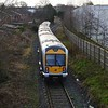 3015 passes Crumlin,  ''Antrim branch route learning special.'' Weds 25.01.17