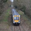 3015 at Millers Bridge between Antrim & Crumlin,  ''Antrim branch route learning special.'' Weds 25.01.17