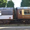 Former Irish Rail BR Van 3172 next to a Pullman Mk1 carriage at the Great Central Railway, Loughborough. Fri 06.10.17