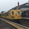 8069 at Carrickfergus, returning to York Road Depot after working the daytime sandite to Lisburn, Bangor and Carrickfergus instead of the booked MPV unit.<br /> <br /> Fri 13.10.17  <br /> <br /> (With thanks to Tyler Playfair)