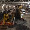 Construction of Platform 12 at Edinburgh Waverley. Sat 02.12.17