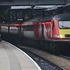 43296 arrives at Leeds, 1105 from London Kings Cross. Thurs 26.01.17