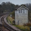The closed Barnetby East Signalbox. Barnetby was re-signalled during the Christmas / New year period of 2015/16 which seen the removal of a number of semaphore signals also. Weds 01.11.17