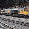 VIDEO:<br /> <br /> 66749 departs York in 8th Notch.<br /> <br /> Fri 01.09.17