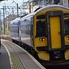 158715 departs Haymarket, 1226 Edinburgh Waverley / West Calder. Sun 03.09.17