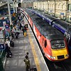 43314 arrives at Edinburgh Waverley , 0947 Aberdeen / London Kings Cross. Sun 03.09.17