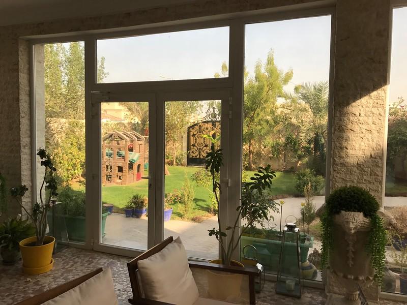 Katarský dům vstup