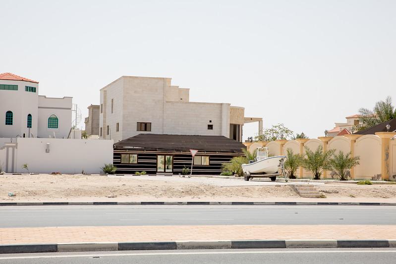 Katarský dům 3 se stanem
