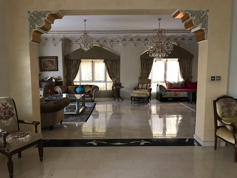 Katarský dům interiér 1