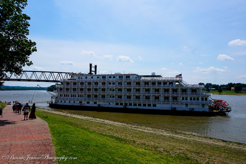 Our boat - Queen of the Mississippi