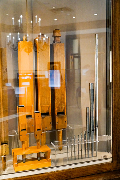 Some wood and metal whistles (pipes)....