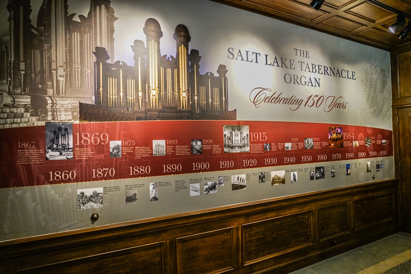 Timeline of the SLC Organ (1860 - Present)