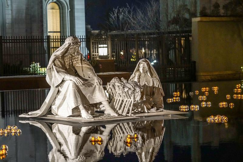 Jesus, Mary & Joseph, Eastside of Temple